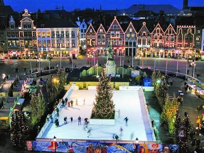 Bruges Winter market