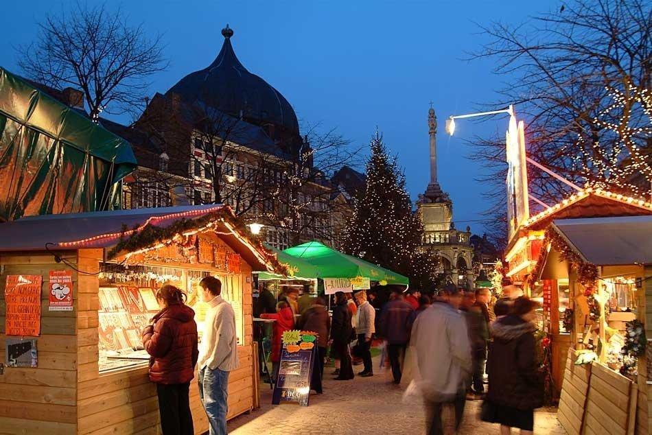 Mercado de navidad Lieja