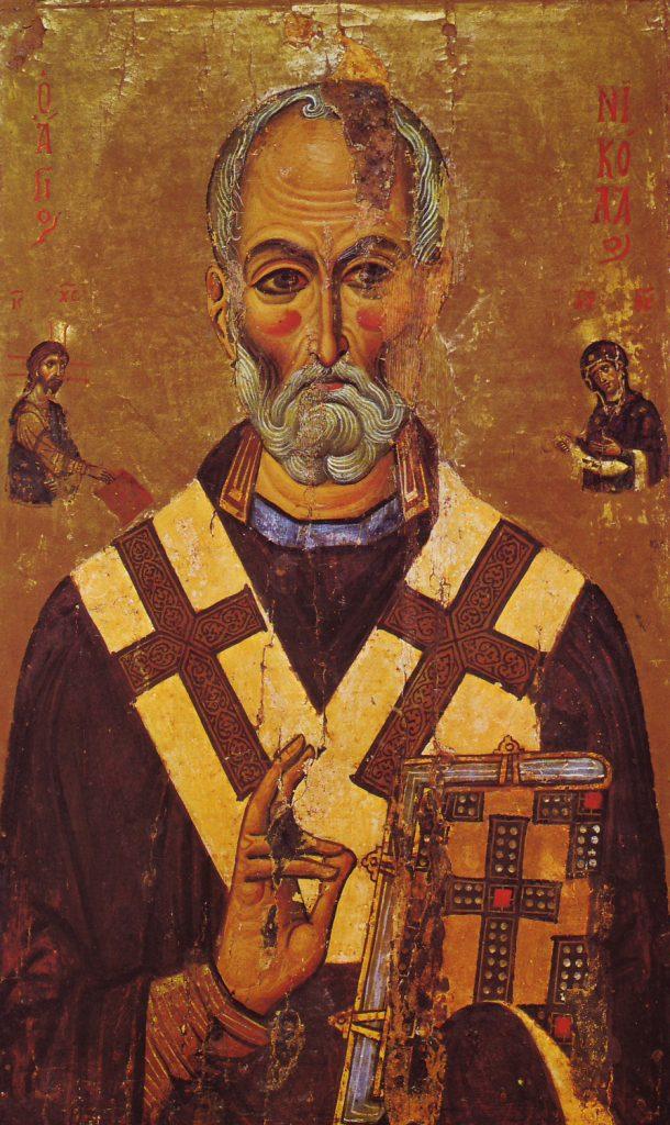 Icono Griego San Nicolás
